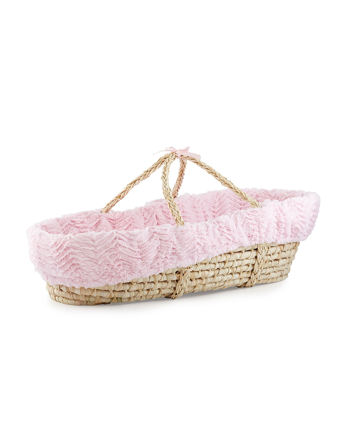 Moses Basket Logan Blush