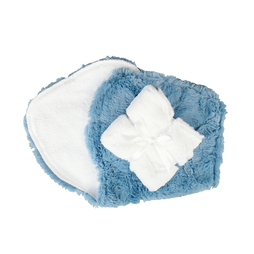 Addison Burp Cloth Blue