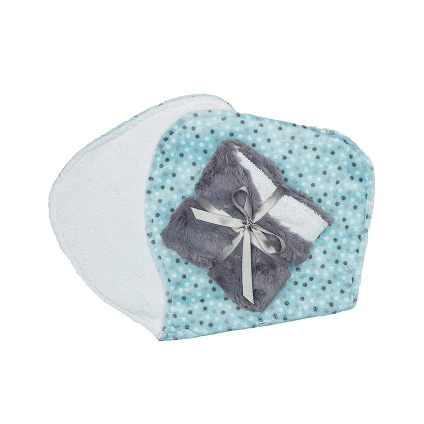 Alex Burp Cloth Aqua Dot