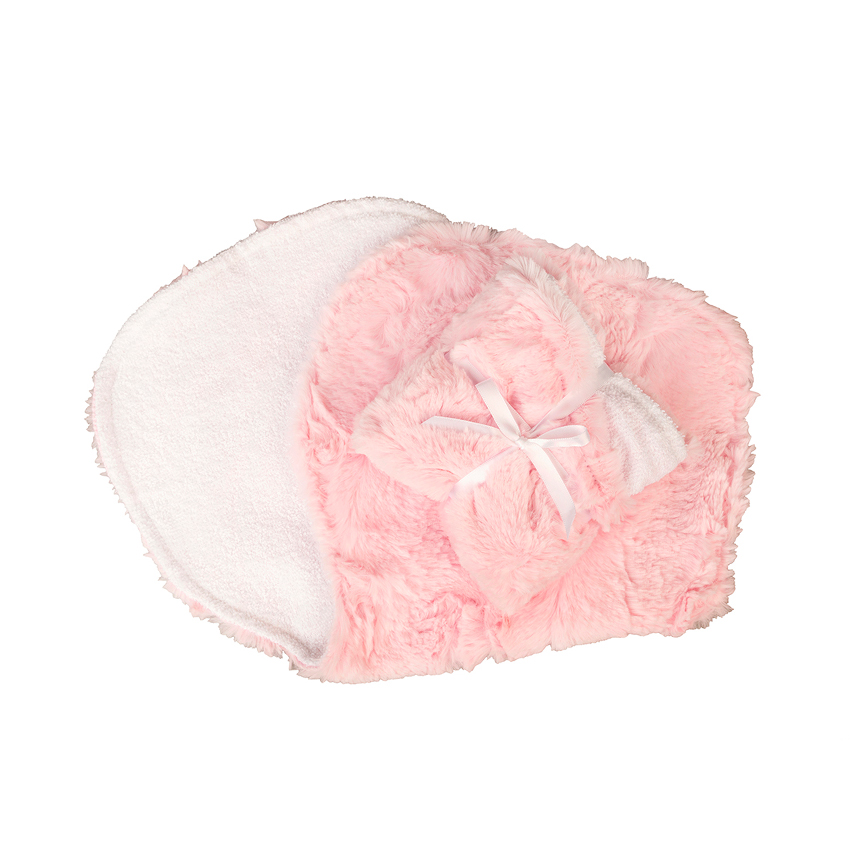 Carter Burp Cloth Blush