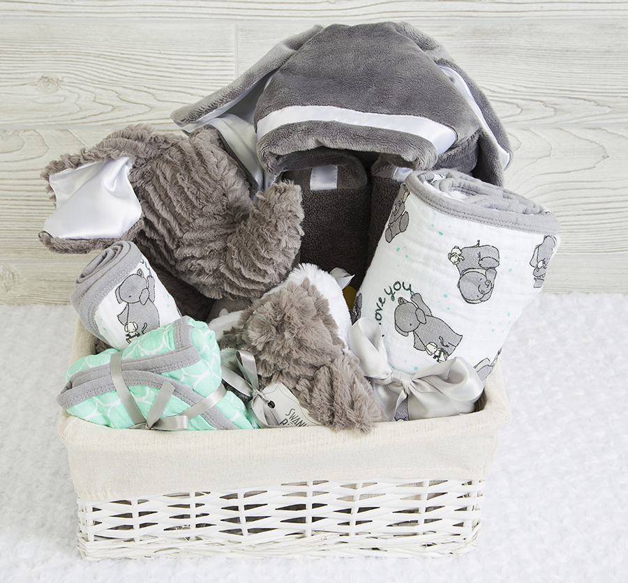 Lil' Peanut Gift Basket Charcoal