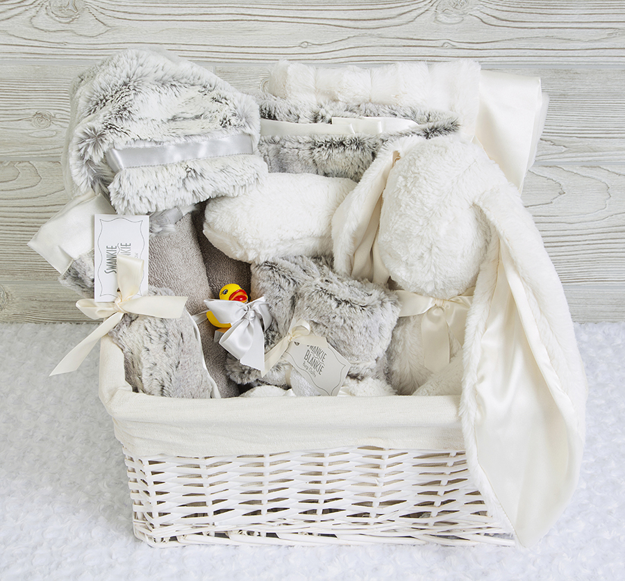 Sugar and Spice Gift Basket Silver