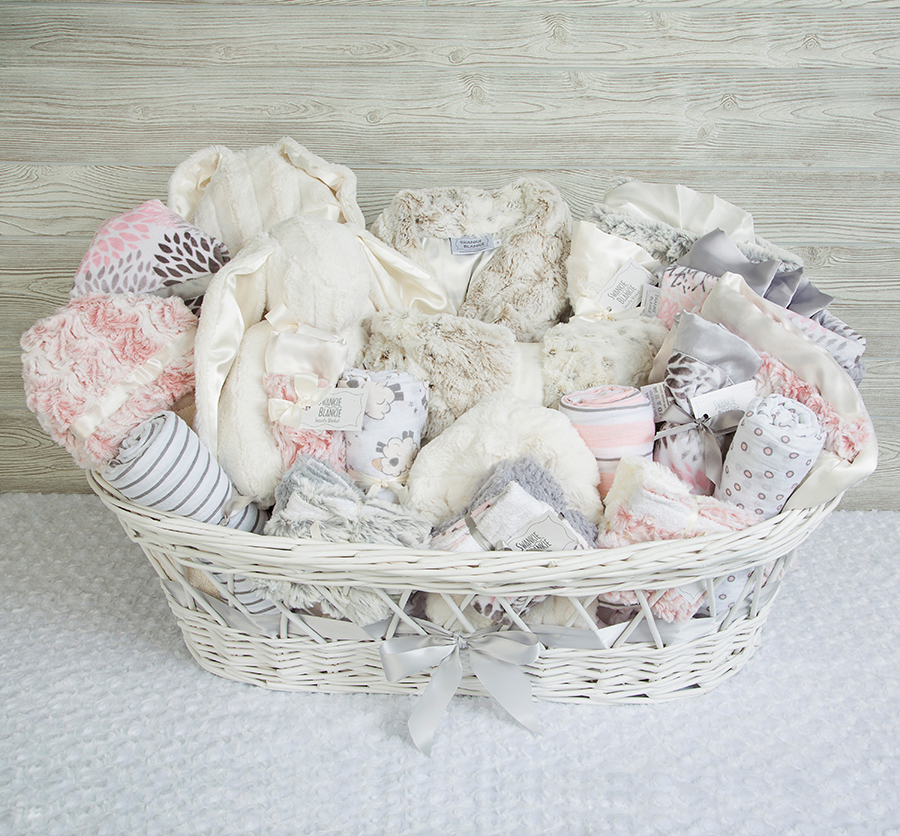Lucky Bebe Gift Basket Rose