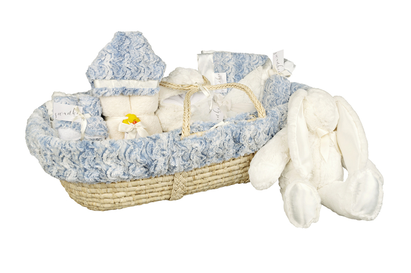 Moses Gift Basket Riley Blue