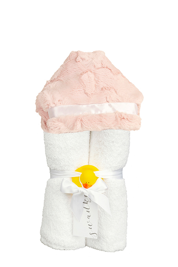 Addison Hooded Towel Rose