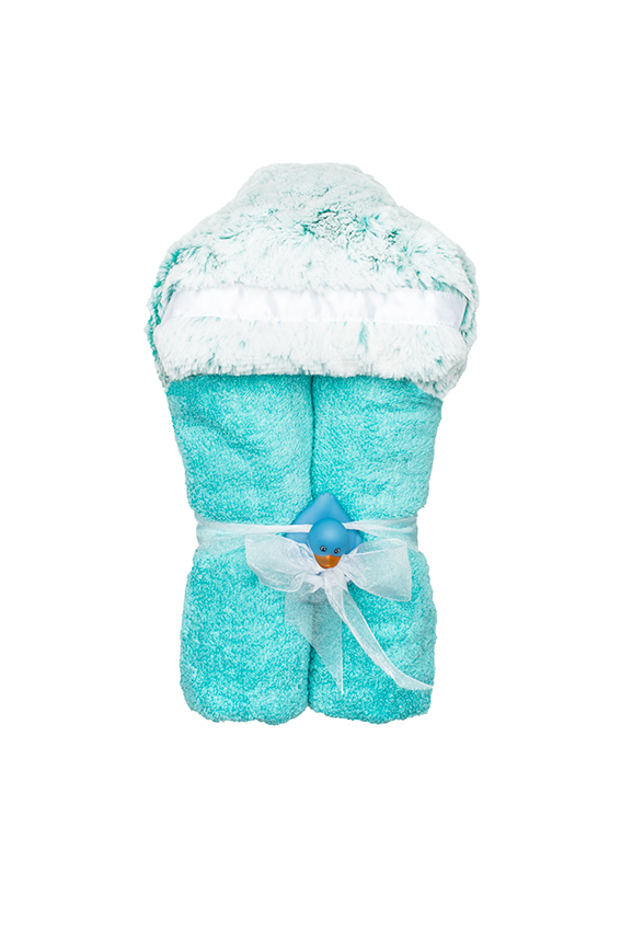 Aspen Hooded Towel Teal
