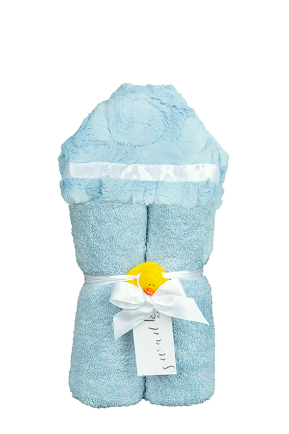 Carter Hooded Towel Sky