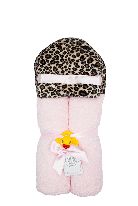 Cheetah Hooded Towel Cheetah