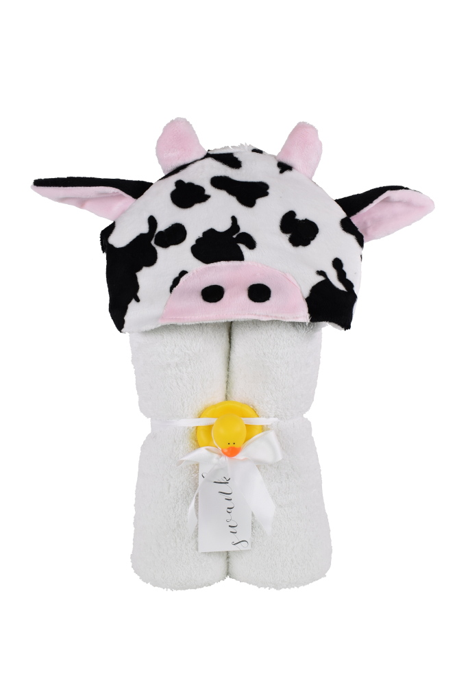 Imagine Hooded Towel Cow
