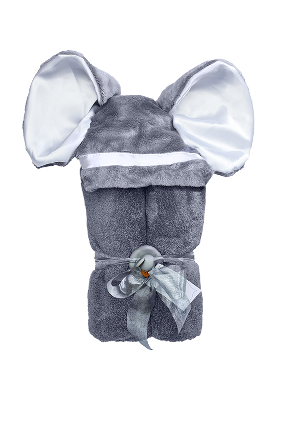 Imagine Hooded Towel Elephant