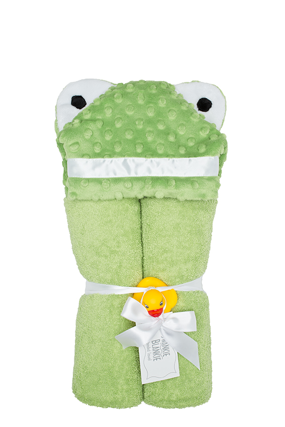 Imagine Hooded Towel Frog