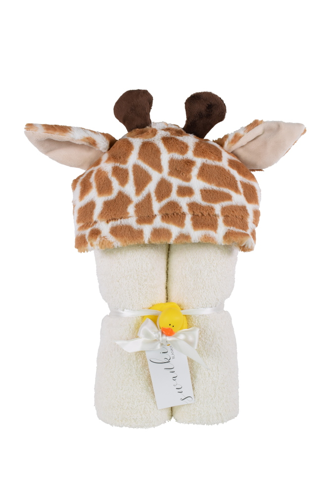 Imagine Hooded Towel Giraffe