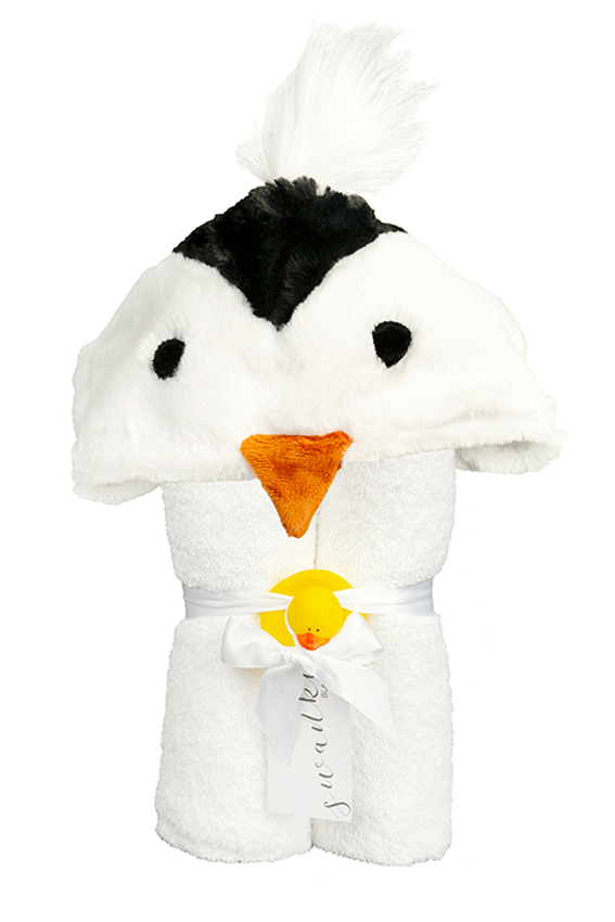 Imagine Hooded Towel Penguin