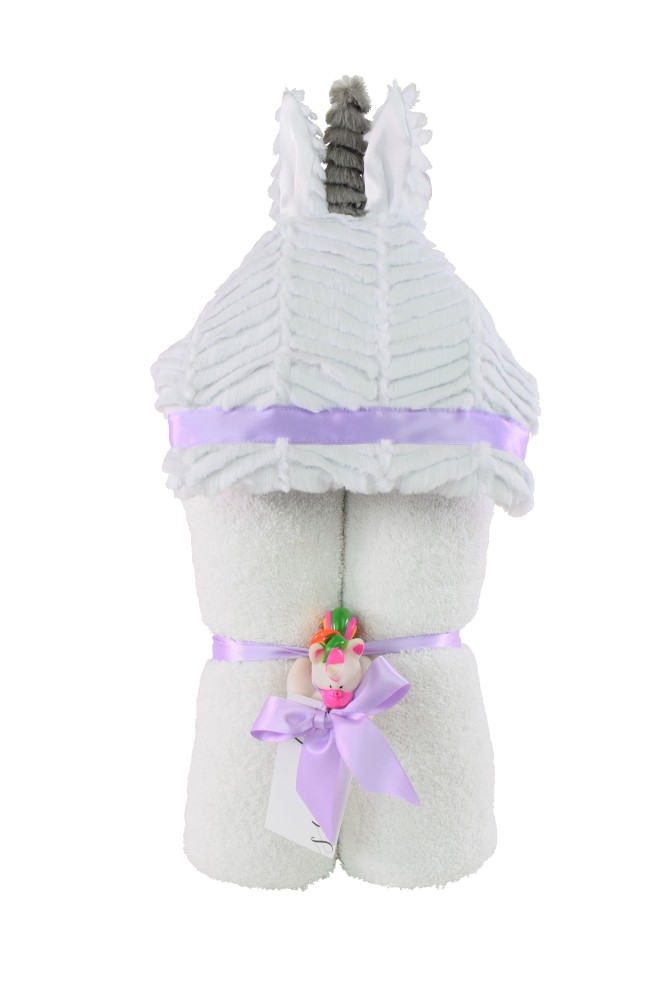 Imagine Hooded Towel Unicorn