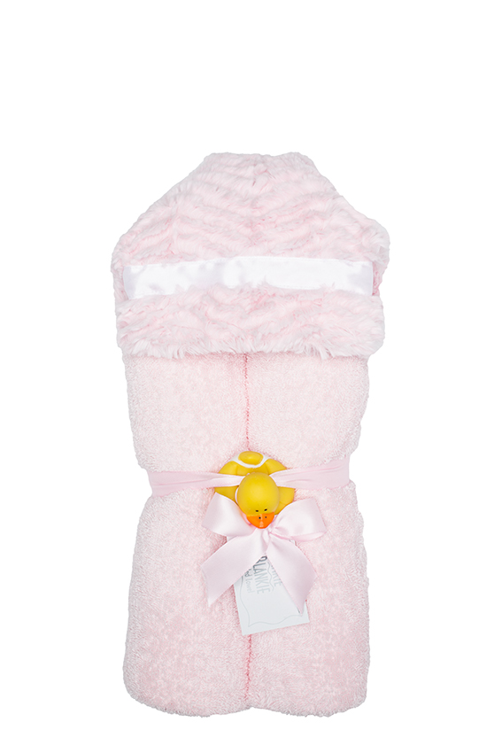 Logan Hooded Towel Blush
