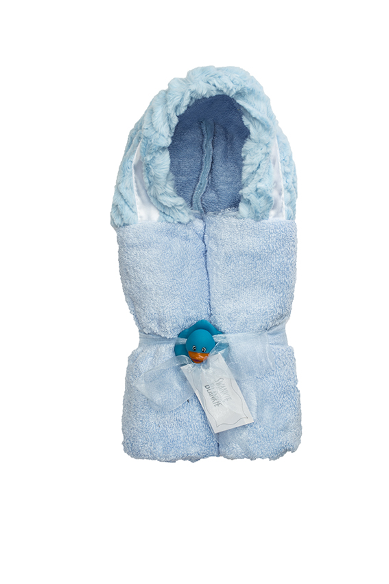 Logan Hooded Towel Sky
