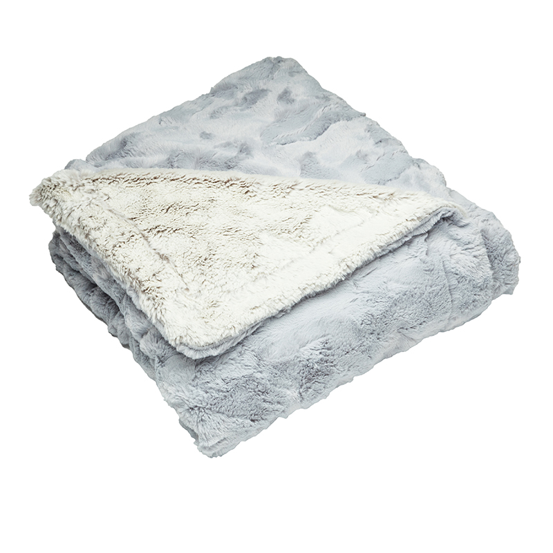 Luxury Throw Aspen Silver