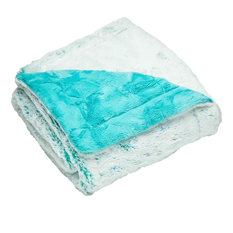 Luxury Throw Aspen Teal