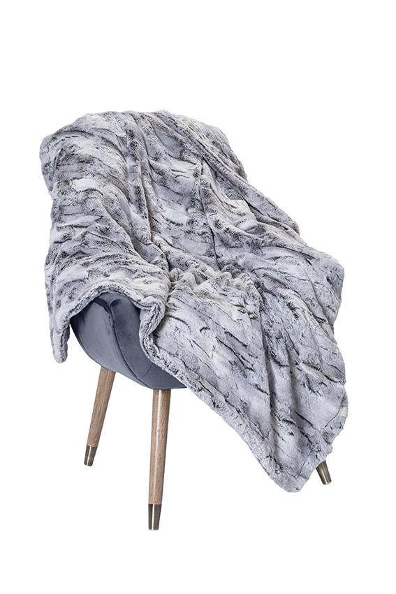 Luxury Throw Dallas Silver