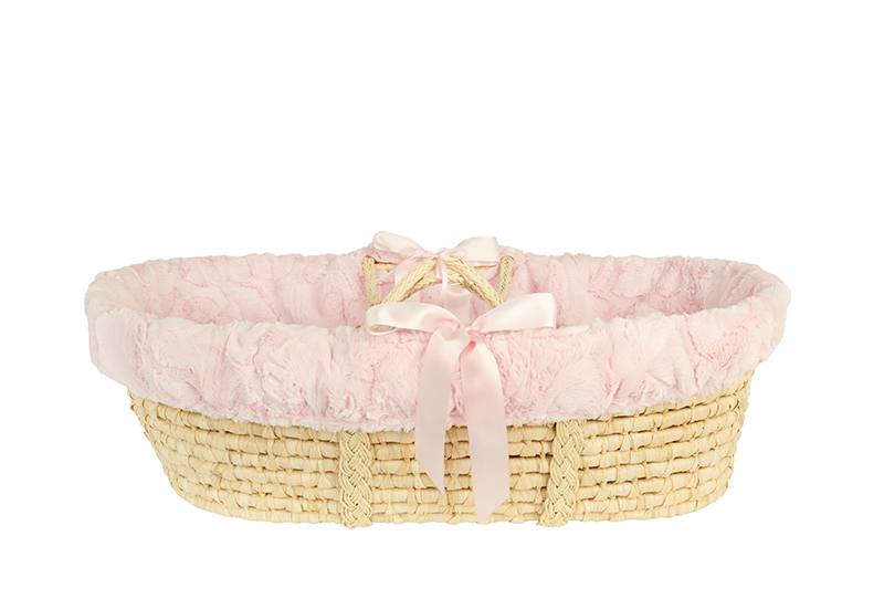 Moses Basket Carter Blush