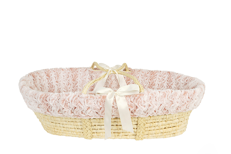 Moses Basket Riley Rose