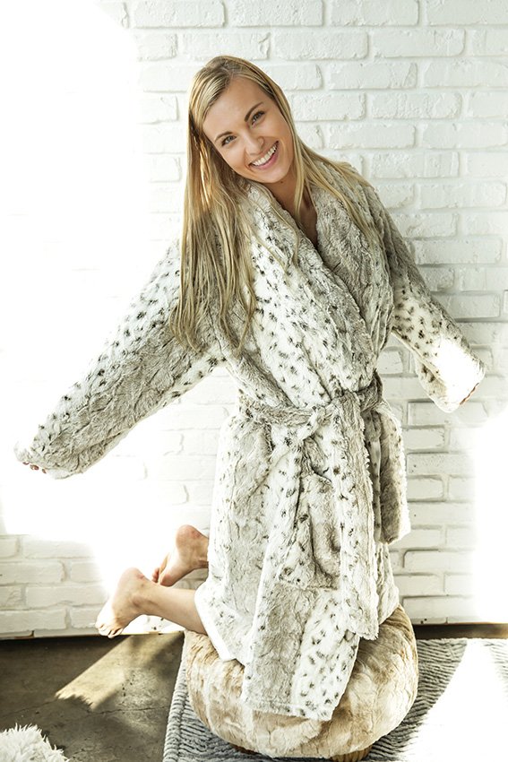 Luxury Robe Dallas Latte