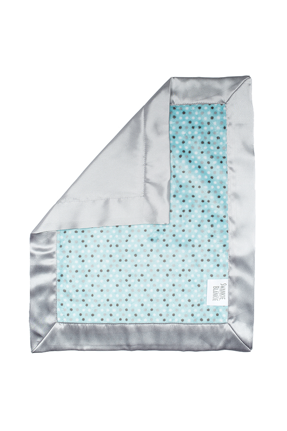 Alex Security Blanket Aqua Dot