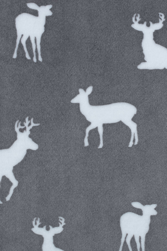 Dakota Security Blanket Gray Deer