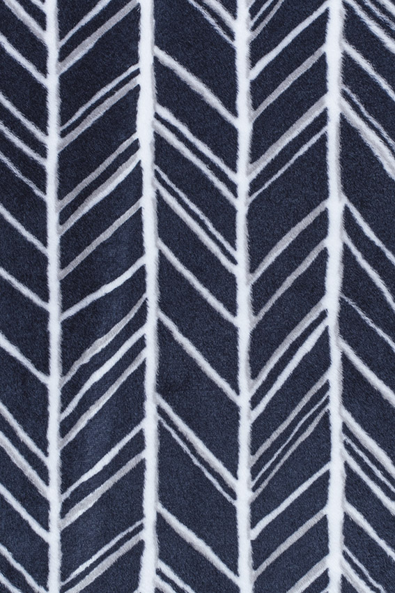 Dakota Security Blanket Navy Feather