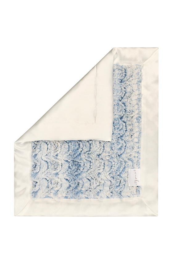 Riley Security Blanket Blue