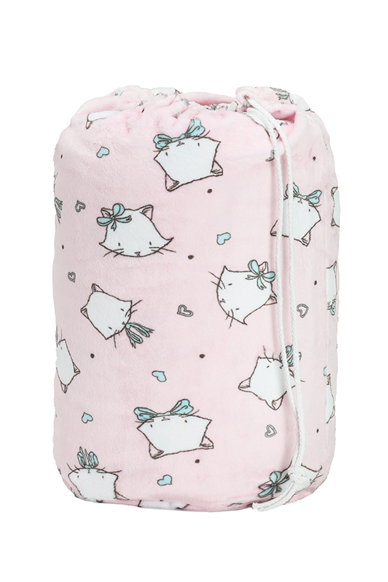 Kitty Pink Sleeping Bag