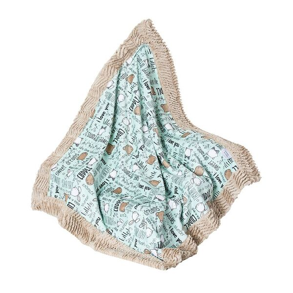 Skylar Toddler Blanket Mint Lullaby